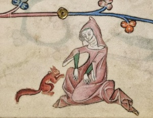 British Library Add. MS 42130, f.33 (Luttrell Psalter)