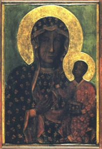 Black Madonna of Czestochowa, from the Jasna Gora monastery.