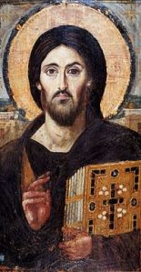 Icon of Christ Pantocrator at St Catherine's Monastery, Mount Sinai