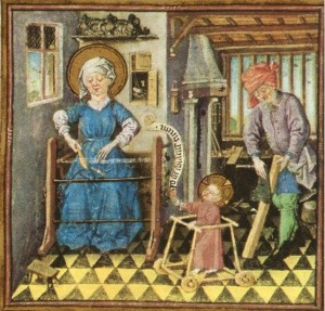 The Hours of Catherine of Cleves. New York, Pierpont Morgan Library MS M. 19, f. 131r.
