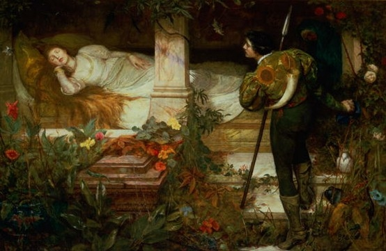 Sleeping Beauty, by Edward Frederick Brewtnall