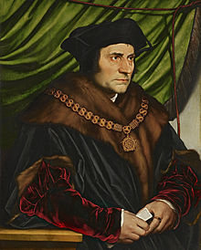 Sir Thomas More, by Hans Holbein the Younger. Engaging in reductive biological essentialism since 1478.