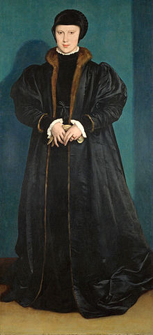 Christina of Denmark, by Hans Holbein the Younger, 1538. The National Gallery