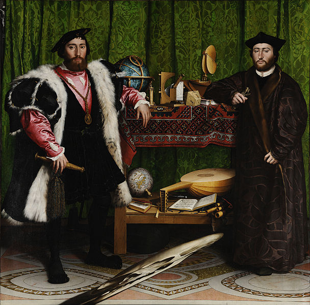Hans Holbein the Younger, 'The Ambassadors,' 1533. The National Gallery