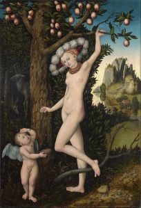 'Cupid Complaining to Venus,' by Lucas Cranach the Elder, c. 1525