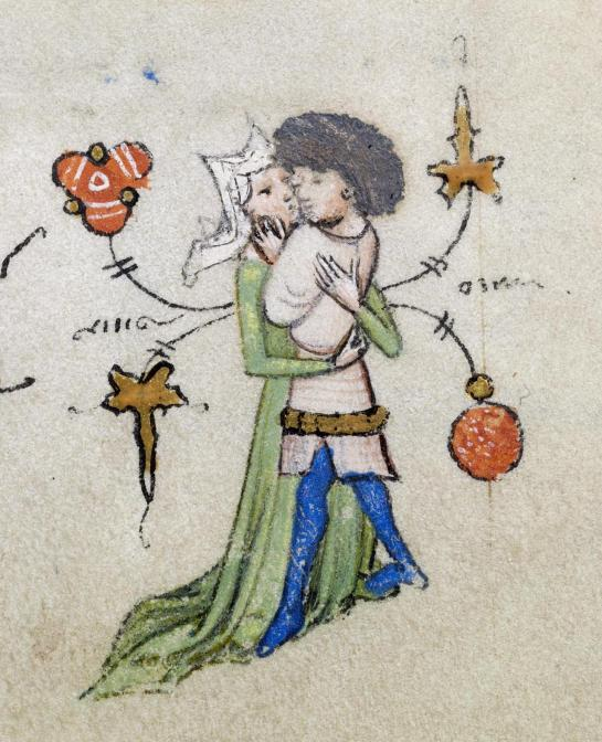 Walters Museum MS W.166, f.16r. via Wikipedia Commons.