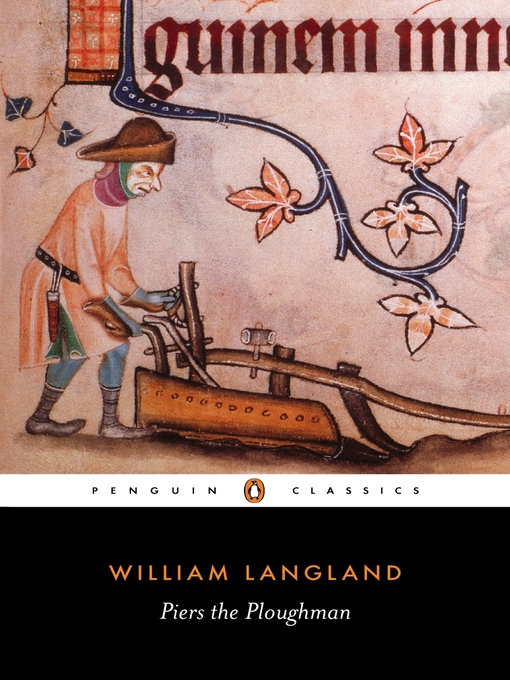 The cover of William Langland's Piers Plowman, edited by J. F. Goodridge for Penguin Classics.