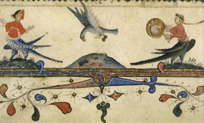 British Library MS Harley 7026, f. 16r (detail)