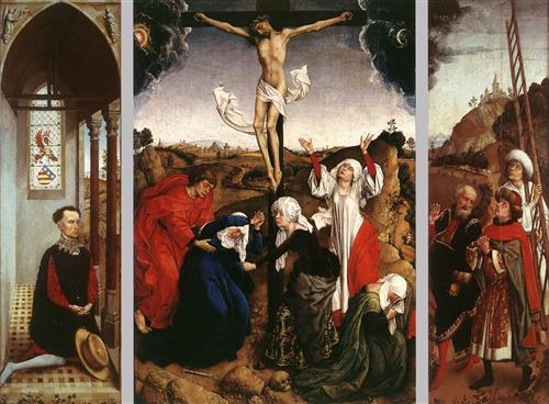 Abegg Triptych, by Rogier van der Weyden. c. 1445