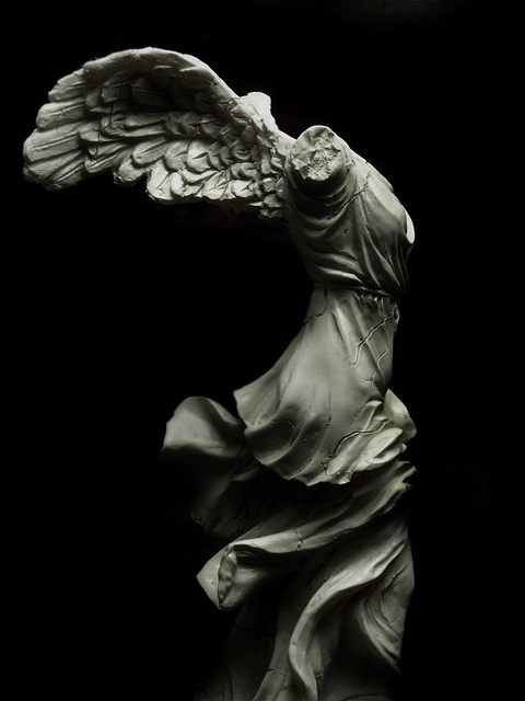 Nike of Samothrace, from the Louvre collection.