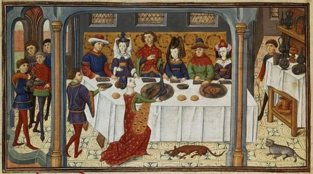 middle ages feast